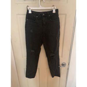 Denim - Black mom jeans!